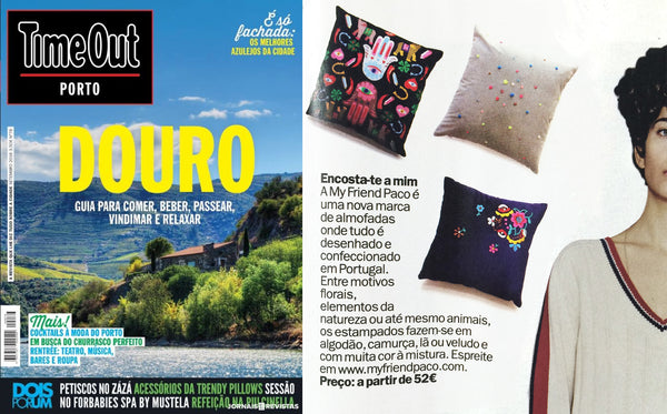 my friend paco designer cushions at time out porto