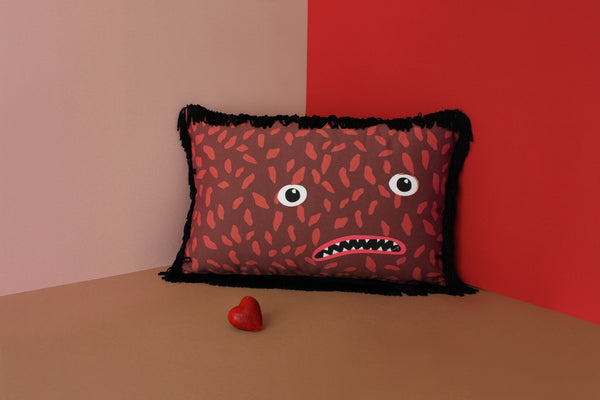 BARTOLOMEU exclusive designer printed cushion My Friend Paco