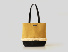 Load image into Gallery viewer, YELLOW DAWN bag designer cushions, silk scarfs, rugs and bags - My Friend Paco