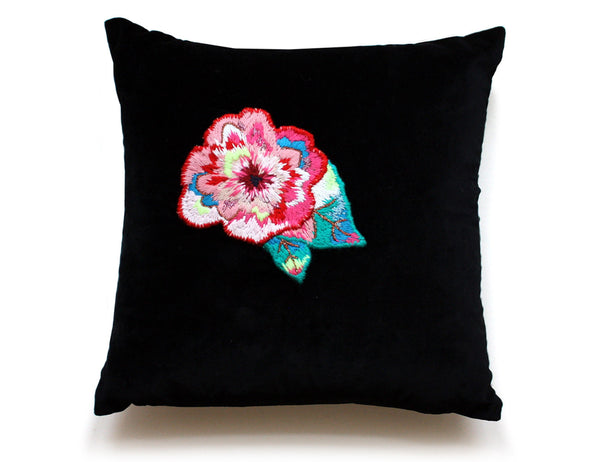 FLORA embroidery cushion by My Friend Paco