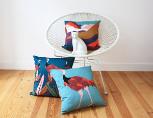 JUBA cushion designer cushions, silk scarfs, rugs and bags - My Friend Paco