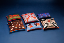 Load image into Gallery viewer, CHLOE silk cushion designer cushions, silk scarfs, rugs and bags - My Friend Paco