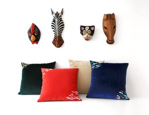 WIND Spring cushion designer cushions, silk scarfs, rugs and bags - My Friend Paco