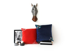 Load image into Gallery viewer, WIND Summer cushion designer cushions, silk scarfs, rugs and bags - My Friend Paco