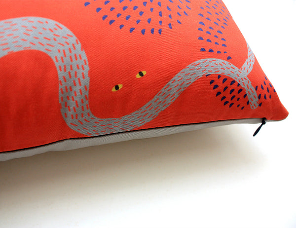 My Friend Paco - Wizzz design printed cotton cushion