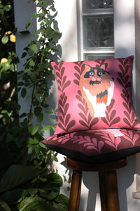 CATWALK cushion - turtle designer cushions, silk scarfs, rugs and bags - My Friend Paco