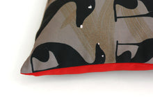 Load image into Gallery viewer, GREYHOUND II cushion designer cushions, silk scarfs, rugs and bags - My Friend Paco
