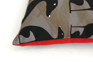 GREYHOUND II cushion designer cushions, silk scarfs, rugs and bags - My Friend Paco