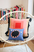 Load image into Gallery viewer, MAX baby cushion designer cushions, silk scarfs, rugs and bags - My Friend Paco