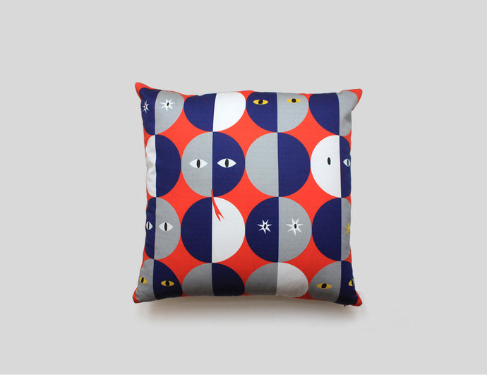 OLIVER cushion designer cushions, silk scarfs, rugs and bags - My Friend Paco