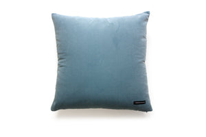DIAMOND petrol and red velvet cushion designer cushions, silk scarfs, rugs and bags - My Friend Paco