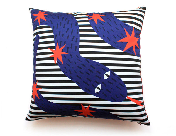 RYTA Cotton printed accent pillow by My Friend Paco