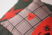 Load image into Gallery viewer, WINK OF LOVE II cushion designer cushions, silk scarfs, rugs and bags - My Friend Paco