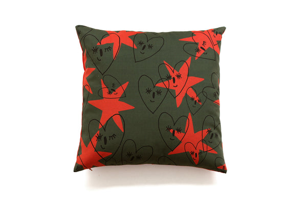 WINK OF LOVE decorative cushion for home decoration by My Friend Paco