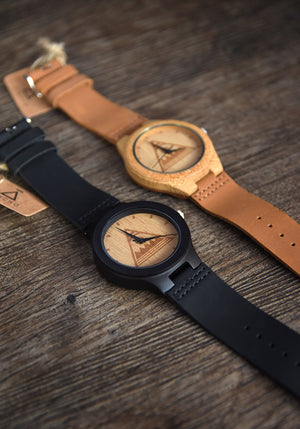 Nicaragua Shield Bamboo Watches