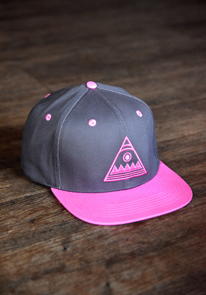 Pink Escudo Snapback Hat