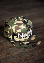 NIKA with Military Camouflage Snapback Hat