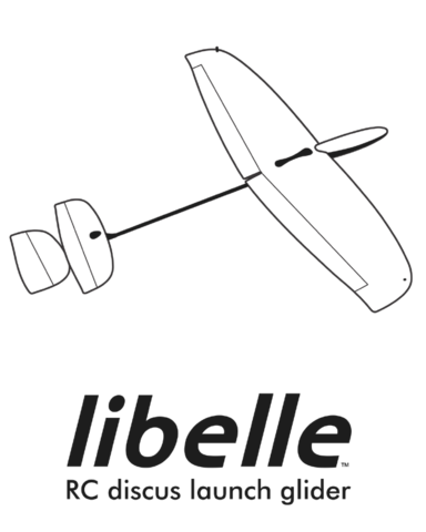 Dream-Flight Libelle 1.2m DLG Kit - ARG