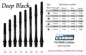 Fit Shaft Carbon (Slim) ~Spinning Type~