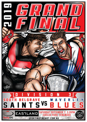 EFL Division 3 Grand Final Poster