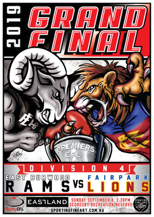 EFL Division 4 Grand Final Poster