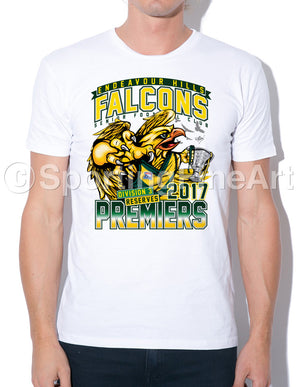 Endeavour Hills FC Reserves Premiership T-Shirt