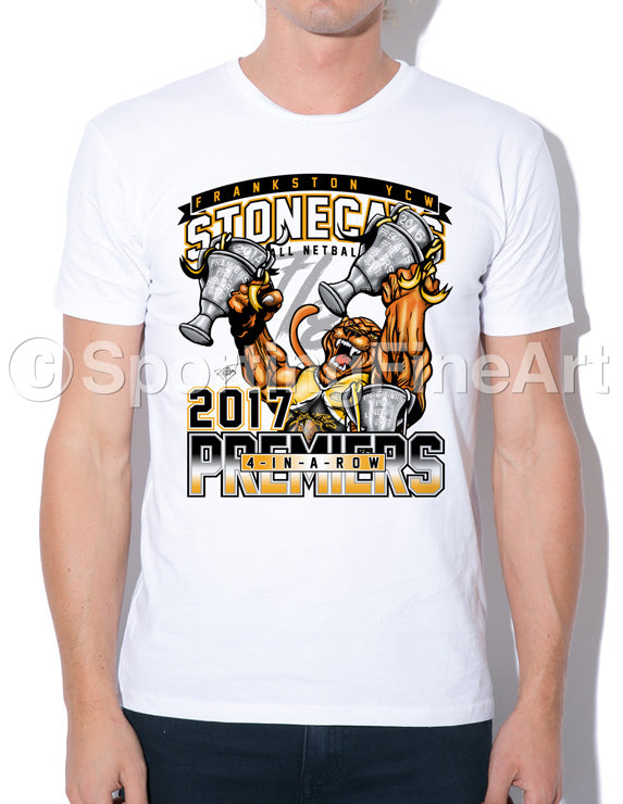 Frankston YCW FC Premiership T-Shirt