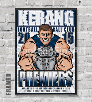 Kerang Football Club 2015/16 Premiership Poster