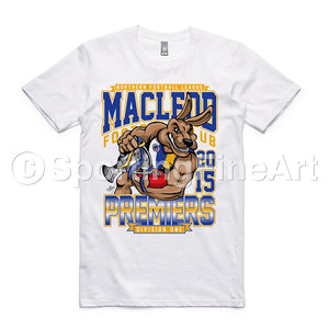 Macleod FC 2015 Premiership T-Shirt