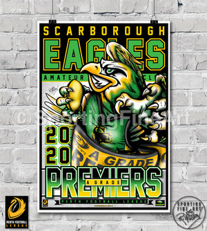 Scarborough AFC 2020 Premiership Poster