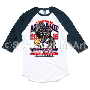 South Adelaide BC Raglan Tee