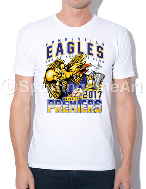 Somverville JFC Under 14 Premiership T-Shirt