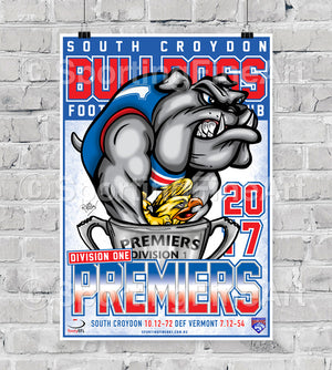 South Croydon FC Premiership Poster
