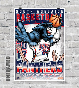 South Adelaide BC 2017 Team Poster