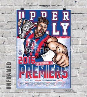 Upper Gully FC Premiership Poster