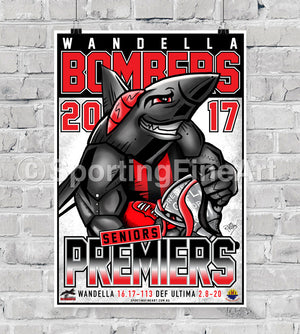 Wandella Football Club 2017 Premiership Poster