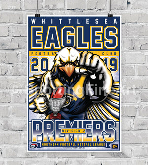 Whittlesea Football Club 2019 Premiership Poster