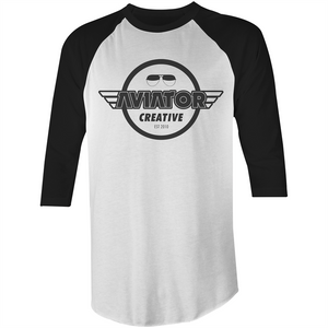 Aviator Creative Raglan - 3/4 Sleeve T-Shirt