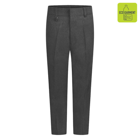 Elasticated waist Boys School Trousers grey
