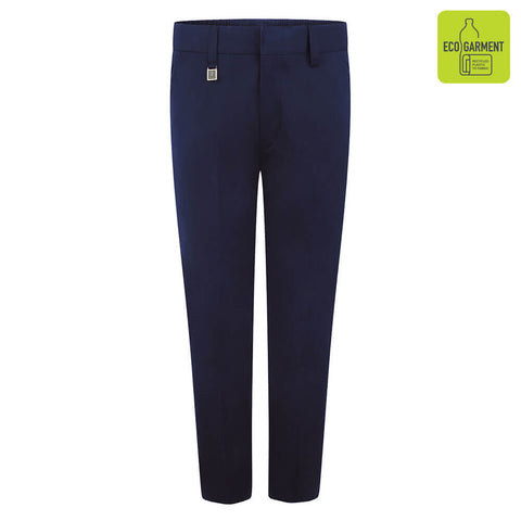 Elasticated waist Boys School Trousers Navy