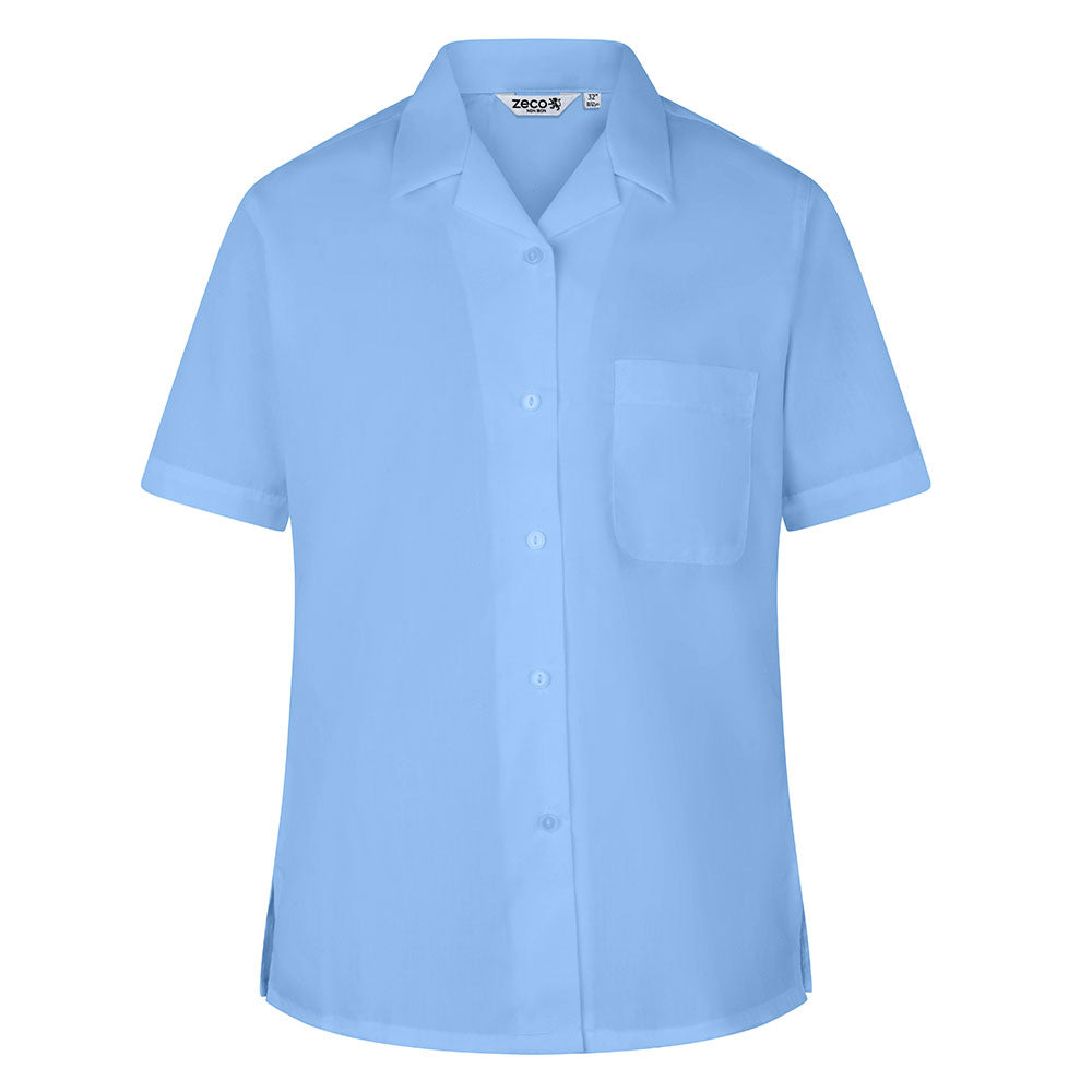 City of London Shoreditch Park Girls blue blouses- years 9,10 & 11  (twin pk)