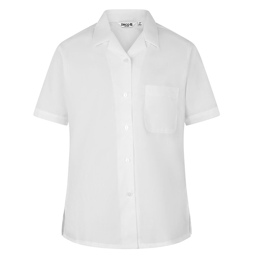 City of London Shoreditch Park Girls white blouses- years 7,8 & 9  (twin pk)