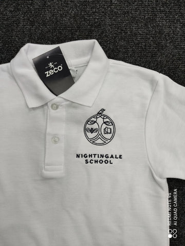 Nightingale Primary school polo shirt