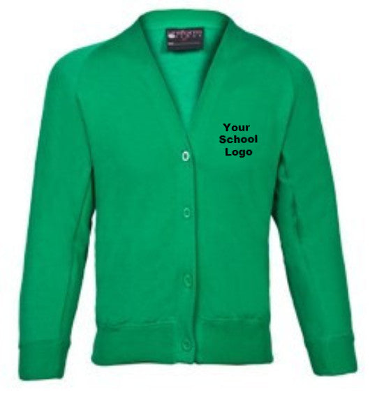 Official Orchard Primary School sweatshirt cardigan