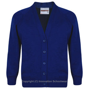 Queensbridge Primary School sweatshirt cardigan
