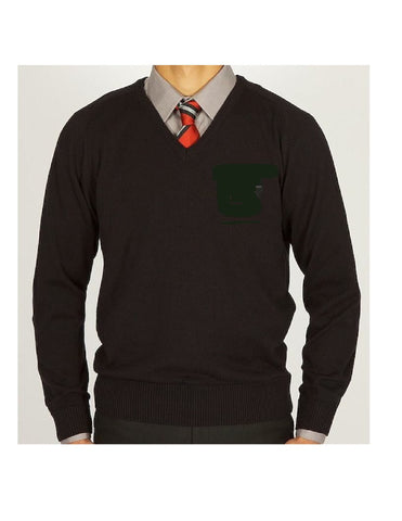 Official Swanlea Senior School V Neck Jumper.