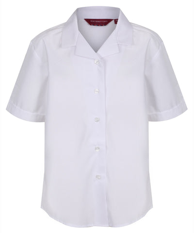 City Academy Girls white blouses- years 7,8 & 9  (twin pk)