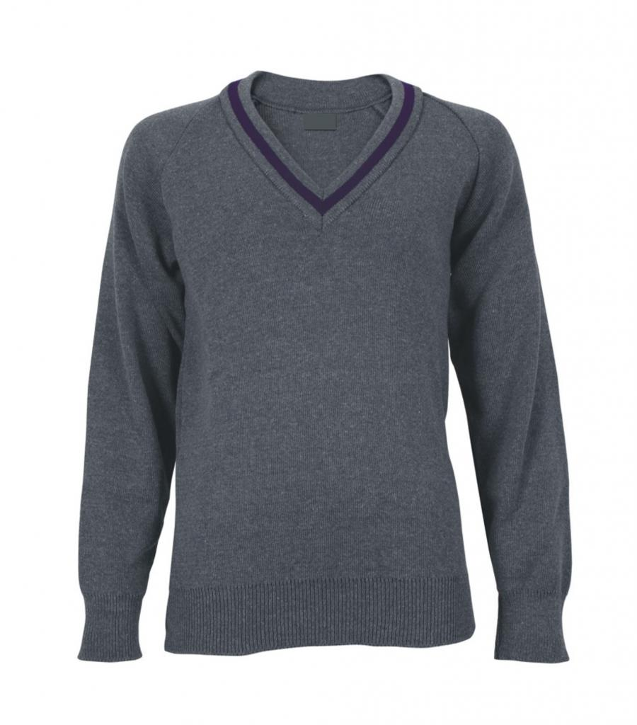 Bridge Academy Unisex V-Neck jumper