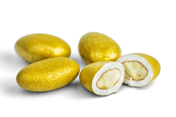 Lustrous Gold French Almonds