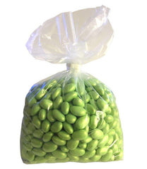 Light Green Pastel Coated Milk Chocolate Malted Milk Balls